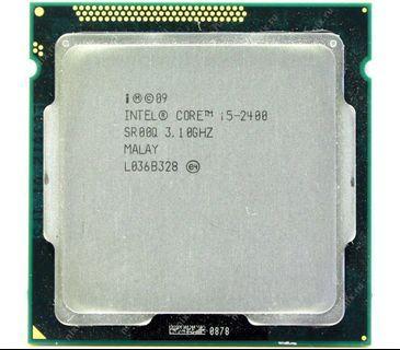 Intel® Core™ i5-2400 Processor (6M Cache, up to 3.40 GHz)