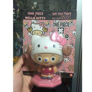 [Discount Fire Sale] One Piece Chopper X Hello Kitty Soft Vinyl Figure