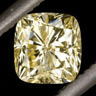 Canary Yellow Diamond-Natural Canary Yellow Diamond. 1/2 Ct. GIA Certified. Setting Service Provided w/Gold. (VXX) R2/4/2719
