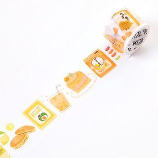 🚚 Japanese Snacks [Banana] Washi Tape