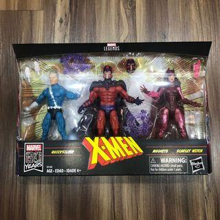 Marvel Legends Family Matters Amazon Exclusive 3 Pack Magneto & Quicksilver & Scarlet Witch Set