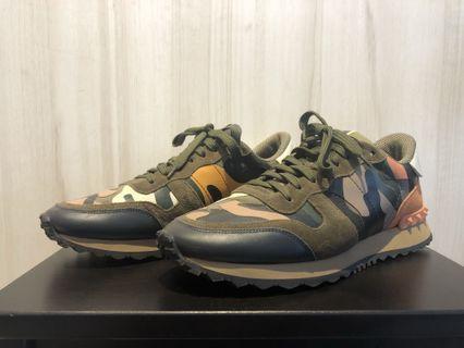 Valentino Camo Rockrunner Sneakers