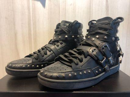Saint Laurent High cut sneakers (full leather)