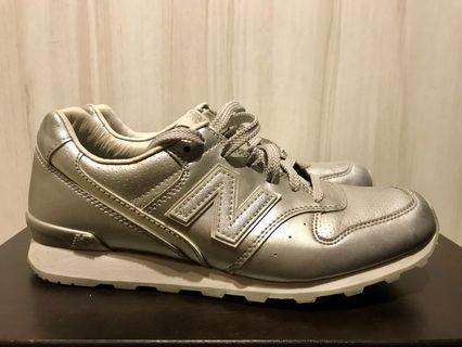 New Balance 996 Limited Edition Silver Sneakers