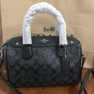 Ready Stock Coach Bennett Satchel Bag