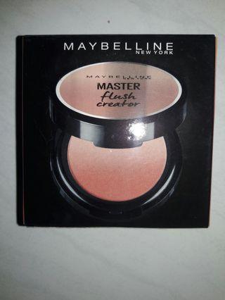 Maybelline blush master flush creator.. sudah BPOM dijamin ori