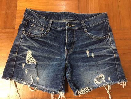 韓國低腰短褲