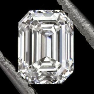 GIA CERTIFIED G SI 1 .79c EMERALD CUT DIAMOND 6MM LONG LOOSE ENGAGEMENT. (UUXX) R2/5/2719