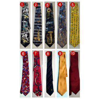 [Brand New] 10 piece Assorted Neck Ties