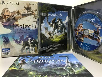PS4 Horizon Zero Dawn steelbook Limited Edition