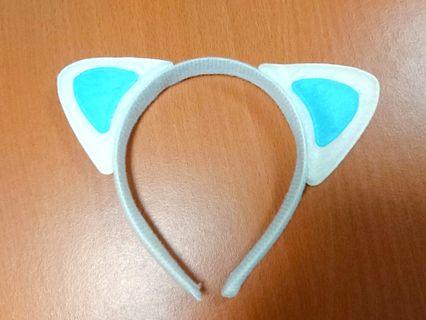 貓咪耳朵髮箍 耳朵髮箍 造型髮箍