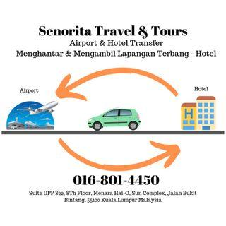 AIRPORT & HOTEL (PICKUP- TRANSFER)