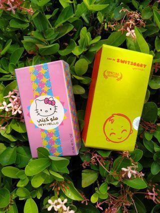 Paket zwitsbaby special edition dan hellokitty parfum
