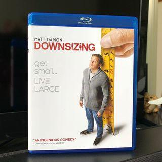 縮水人間 Blu-ray 香港版 (DOWNSIZING) 藍光碟 麥迪文