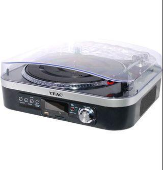 TEAC record player/USB converter