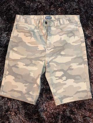 H&M Camouflage Army Shorts