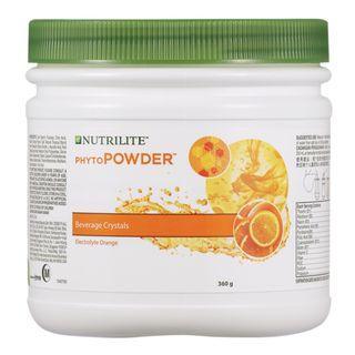 NUTRILITE PhytoPOWDER Electrolyte Orange (Canister) 360g