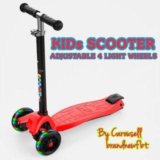 Kids scooter 4 wheels