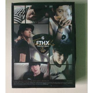 🚚 FTIsland Thanks To CD+DVD Taiwan Limited Edition Version A