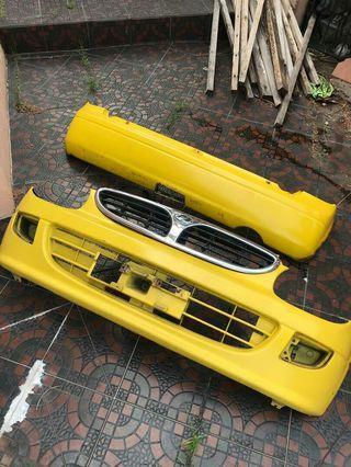 Perodua Kelisa Front Rear Bumper First Generation Model