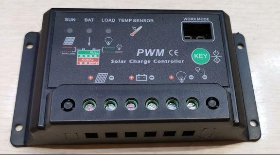 🚚 SOLAR CHARGE CONTROLLER (10A)