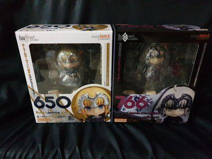 Jeanne d arc nendoroid set from fate grand order