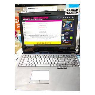 """$8599 特價陳列品手提電腦,DELL Alienware ALW17C-R476040 遊戲專用筆記型電腦,震撼的視覺效能。纖薄設計。 Alienware 有史以來功能最輕薄的 17"""" 筆記型電腦。以鎂合金打造,具備優異的電池續航力及 CPU 動態超頻技術。"""