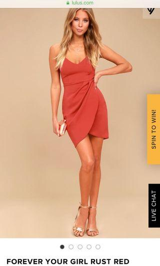 Lulus forever your girl dress