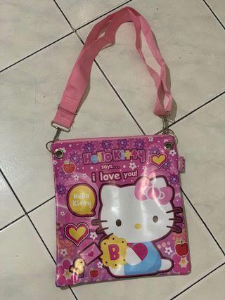 sling bag hello kitty