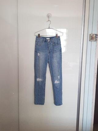 H&M Denim Mom Jeans