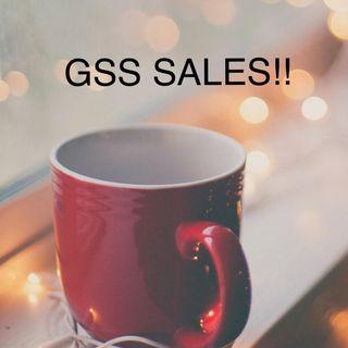 GSS SALES for everything!! (Ends on 31st July)
