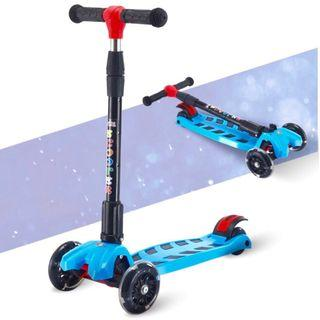 Children Scooter foldable with LED lights
