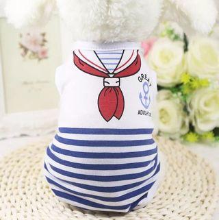 Pet Cloth Cat Dog Cloth Sailor PC098
