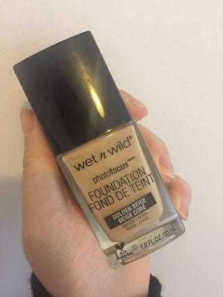 Wet and wild foundation