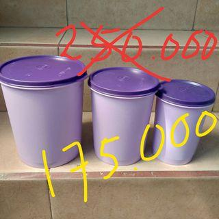 Snall,medium,large canister