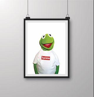 Supreme X Gurmit The Frog