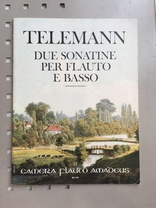 Sonatina for Flute by Telemann