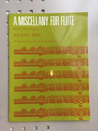 A Miscellany for Flute