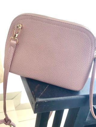 Pink Strap Bag