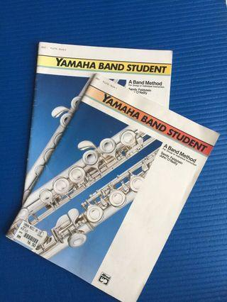 Yamaha Band Student for Flute book 1&2