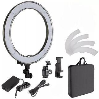 13 inch Camera Photo Studio Phone Video LED Ring Light 5500K Photography Dimmable Makeup Ring Lamp