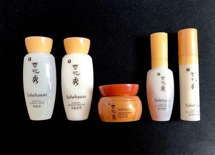 🇰🇷 Sulwhasoo Basic Kit Travel Set (5 Items) 雪花秀旅行護膚套裝