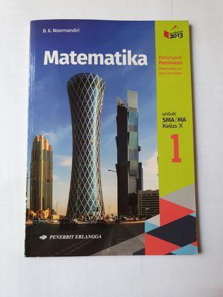 Buku Matematika Minat SMA