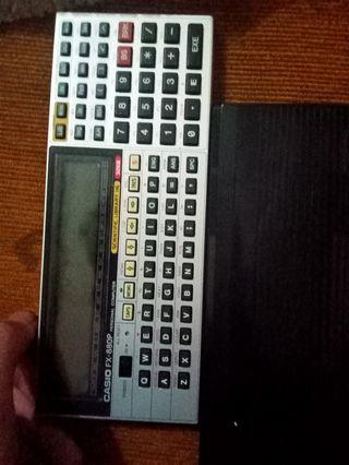 Barang Antik Casio FX 880p