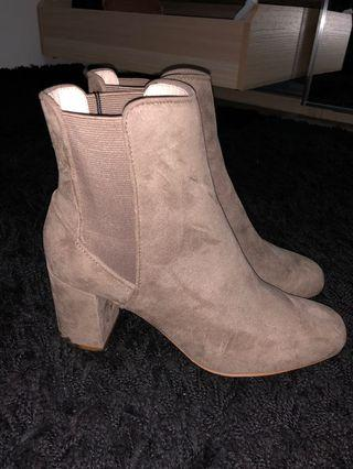ZARA Basic Collection Ankle Boot W/ Heels