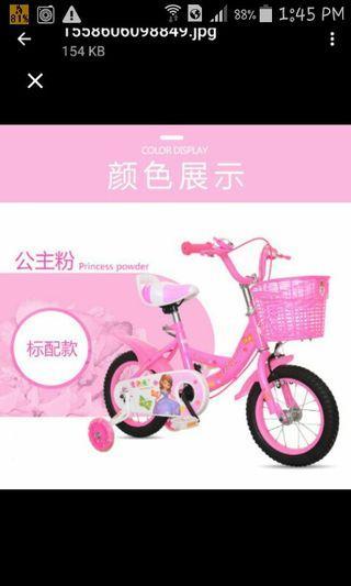 Kids Bicycle/princess bicycle/sofia bicycle