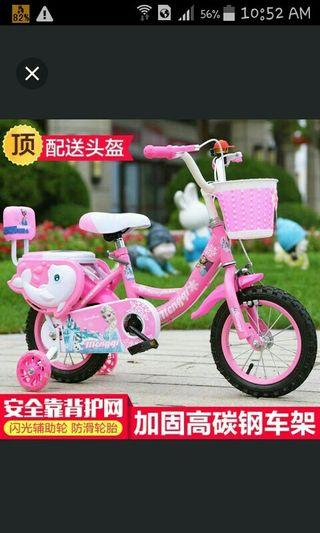 In stock/kids bicycle/frozen bicycle/fix price