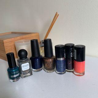Nail polish $3 each