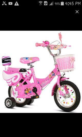 Kids Bicycle/princess bicycle/fix price