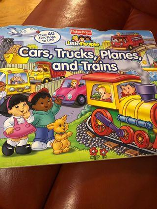 Fisher price lift the flap book
